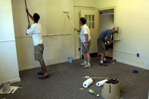 painting-the-religious-school-office-walls